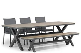 Lifestyle Rome/Forest 240 cm dining tuinset 5-delig