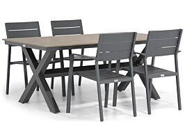Lifestyle Stella/Forest 180 cm dining tuinset 5-delig