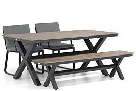Lifestyle Estancia/Forest 180 cm dining tuinset 4-delig