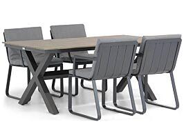 Lifestyle Estancia/Forest 180 cm dining tuinset 5-delig