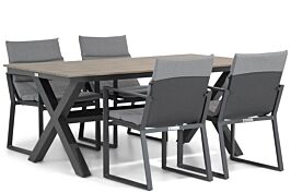 Lifestyle Treviso/Forest 180 cm dining tuinset 5-delig