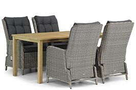 Garden Collections Kingston/Weston 160 cm dining tuinset 5-delig