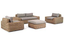 Coco Spiaggia stoel-bank loungeset 4-delig