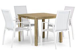 Lifestyle Ultimate/Weston 90 cm dining tuinset 5-delig