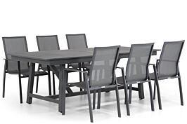 Lifestyle Ultimate/General 217/277 cm dining tuinset 7-delig