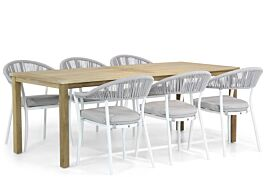 Santika Vivian/Weston 210 cm dining tuinset 7-delig