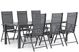 Domani Sortino/Mondello 210 cm dining tuinset 7-delig