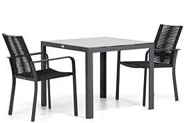 Santika Annisa/Mondello 90 cm dining tuinset 3-delig