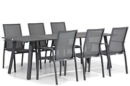 Lifestyle Ultimate/Villagio 230 cm dining tuinset 7-delig
