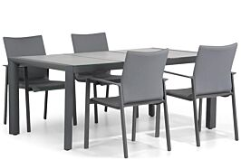 Lifestyle Rome/Lido 180 cm dining tuinset 5-delig