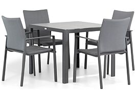 Lifestyle Rome/Varano 90 cm dining tuinset 5-delig