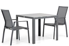 Lifestyle Ultimate/Varano 90 cm dining tuinset 3-delig