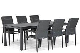 Presto Ricadi/Concept 220 cm dining tuinset 7-delig