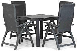 Presto Tarenta/Concept 90 cm dining tuinset 5-delig