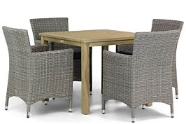 Garden Collections Dublin/Weston 90 cm dining tuinset 5-delig