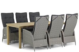 Garden Collections Lincoln/Weston 210 cm dining tuinset 7-delig