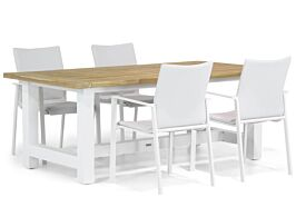 Lifestyle Rome/Los Angeles 200 cm dining tuinset 5-delig