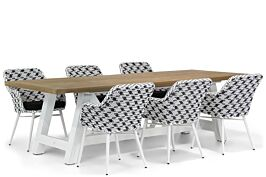 Lifestyle Crossway/Florence 260 cm dining tuinset 7-delig