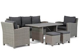 Garden Collections Valley stoel-bank loungeset 6-delig
