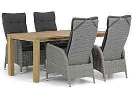 Garden Collections Lincoln/Bristol 180 cm dining tuinset 5-delig