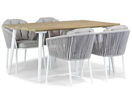 Santika Novita/Julia 160 cm dining tuinset 5-delig