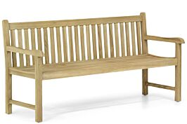 Garden Collections Preston houten tuinbank teak 180 cm
