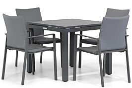 Lifestyle Rome/Concept 90 cm dining tuinset 5-delig
