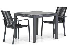 Santika Annisa/Concept 90 cm dining tuinset 3-delig