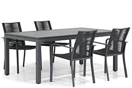 Santika Annisa/Concept 160 cm dining tuinset 5-delig