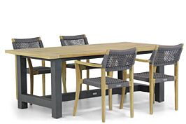 Lifestyle Dallas/San Francisco 200 cm dining tuinset 5-delig