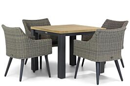 Garden Collections Milton/Veneto 95 cm dining tuinset 5-delig