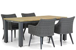 Garden Collections Milton/Veneto 180 cm dining tuinset 5-delig