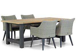 Garden Collections Milton/San Francisco 200 cm dining tuinset 5-delig