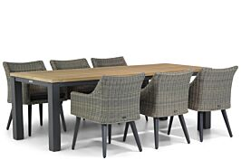 Garden Collections Milton/Veneto 230 cm dining tuinset 7-delig