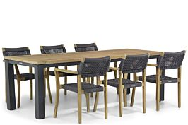 Lifestyle Dallas/Veneto 230 cm dining tuinset 7-delig