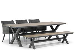 Garden Collections Milton/Forest 240 dining tuinset 5-delig