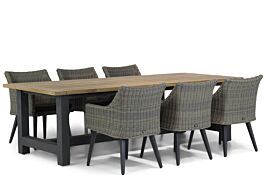 Garden Collections Milton/San Francisco 260 cm dining tuinset 7-delig