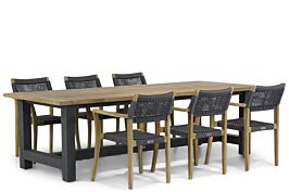 Lifestyle Dallas/San Francisco 260 cm dining tuinset 7-delig