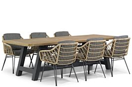 4 Seasons Outdoor Cottage/Trente 260 cm dining tuinset 7-delig