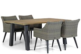 Garden Collections Milton/Glasgow 180 cm dining tuinset 5-delig