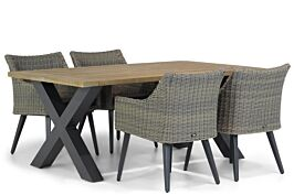 Garden Collections Milton/Cardiff 180 cm dining tuinset 5-delig