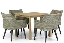 Garden Collections Milton/Weston 90 cm dining tuinset 5-delig