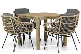 4 Seasons Outdoor Cottage/Weston 90 cm dining tuinset 5-delig