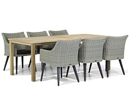 Garden Collections Milton/Weston 210 cm dining tuinset 7-delig
