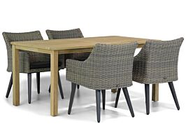 Garden Collections Milton/Weston 160 cm dining tuinset 5-delig