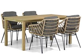 4 Seasons Outdoor Cottage/Weston 160 cm dining tuinset 5-delig