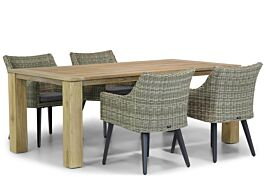 Garden Collections Milton/Brighton 200 cm dining tuinset 5-delig