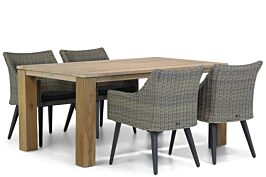 Garden Collections Milton/Brighton 165 cm dining tuinset 5-delig