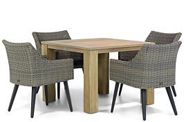 Garden Collections Milton/Brighton 100 cm dining tuinset 5-delig