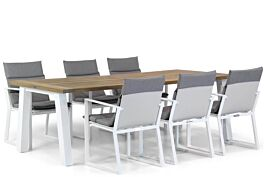 Lifestyle Treviso/Glasgow 240 cm dining tuinset 7-delig